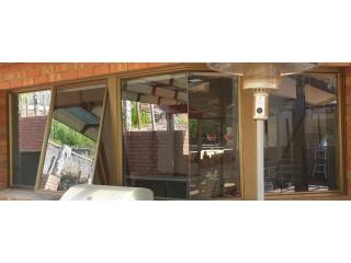 Aluminum Framed Glass Swing Window