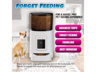 Smart Automatic PetFeeder camera