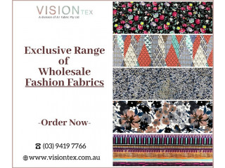 Get Exclusive Range of Fashion Fabrics for Your Collection