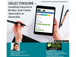 SELECTINSURE Leading Insurance Broker and Claim Specialist in Australia