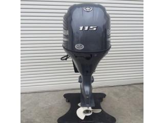 Used Yamaha 115HP 4-Stroke Outboard Motor Engine