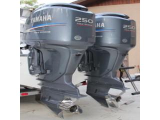 Used Yamaha 250HP 4-Stroke Outboard Motor Engine