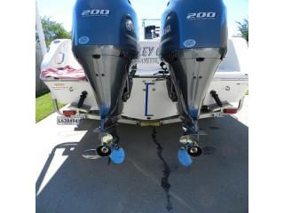 Used Yamaha 200HP 4-Stroke Outboard Motor Engine