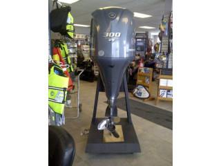 Used Yamaha 300HP 4-Stroke Outboard Motor Engine