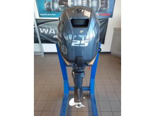 Used Yamaha 25HP 4-Stroke Outboard Motor Engine