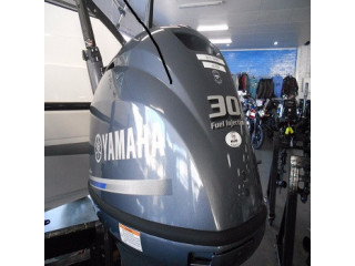 Used Yamaha 30HP 4-Stroke Outboard Motor Engine