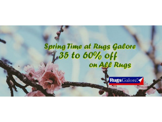 Spring Sale | Get 35 to 60% Off on All Rugs