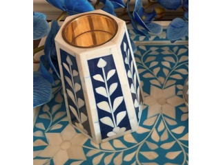 Buy Wedding Candle Holder | Handmade Bone Inlay Candle Sticks Holder For Sale | Divian Decor Exports