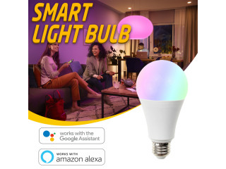Smart Led Bulb 10W Smart Light Bulb Dimmable WiFi LED Bulb
