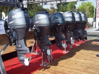 Used Yamaha F75LA Four Stroke outboard / WhatsAp [***]