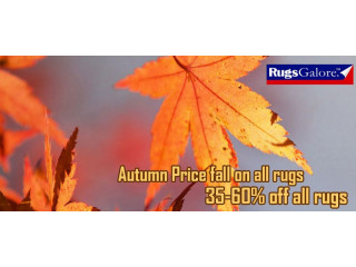 Autumn Price Fall Get Upto 60% off on all Rugs