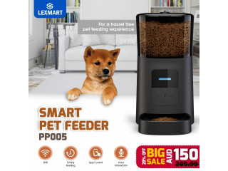 PP005 Smart pet feeder Voice Recording
